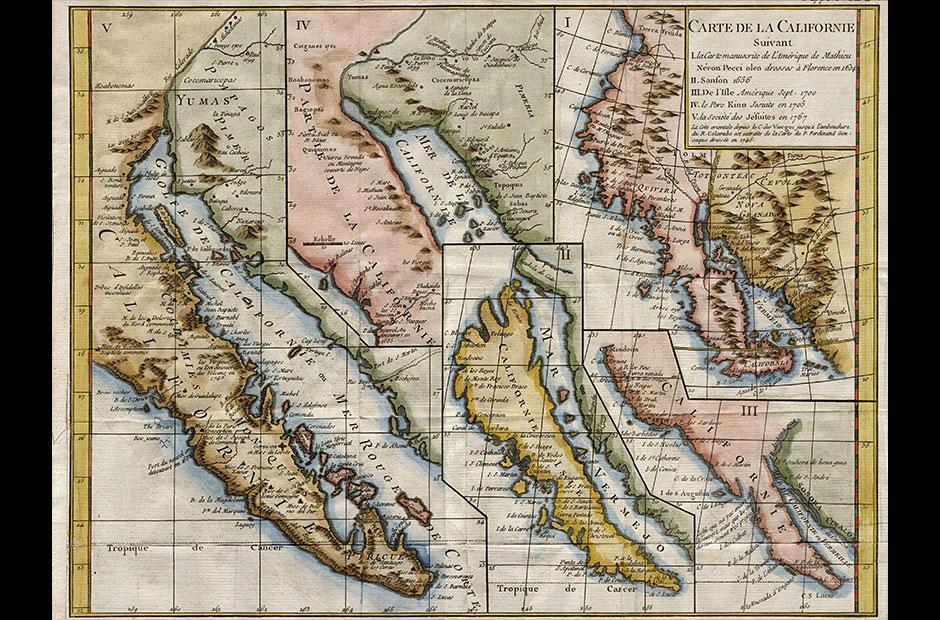 The Myth Of The Island Of California Disenar America