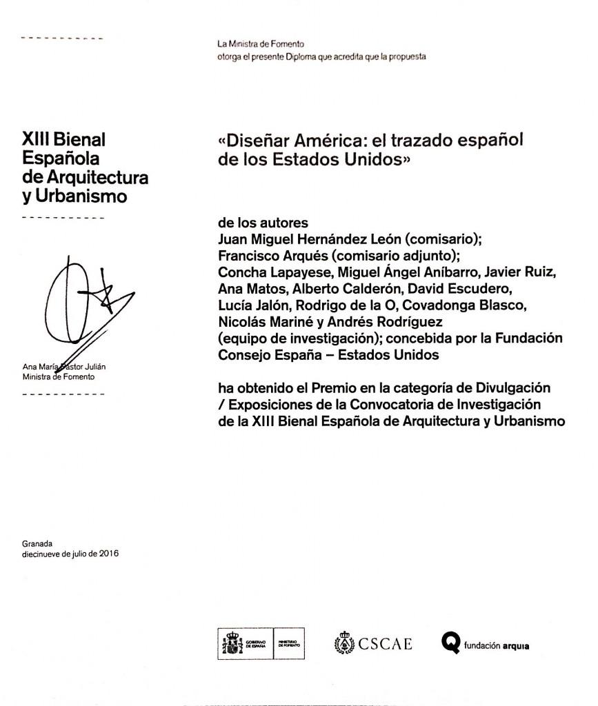 Certificado Premio BEAU